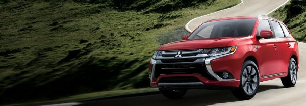 The 2018 Mitsubishi Outlander PHEV.