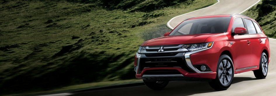 The 2018 Mitsubishi Outlander PHEV.